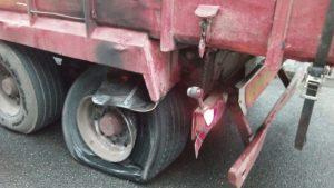 Camión frenos quemados Tunel Islares (3)