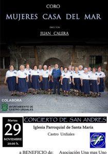 Concierto San Andres Coro Mujeres Casa del Mar