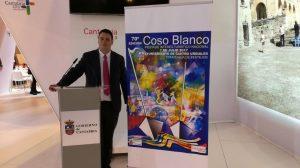 Cartel Coso Blanco 2017. Presentación José Sámano