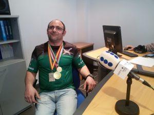 Fermin Ahedo en PR Subcampeón España