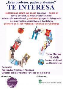 Charla sobre Educación Podemos 1-mar