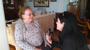 Mercedes Perales. Entrevista en su casa (1)