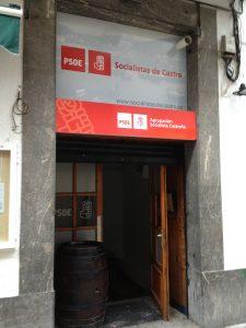 PSOE Castro. Sede