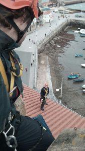 Bomberos en tejado Ayto (1)
