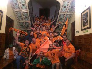 Celebración UD Sámano Ascenso a Tercera 2017 1