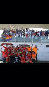 Celebración UD Sámano Ascenso a Tercera 2017 3